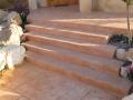 מדרגות בטון מדורגות