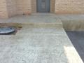 בומנייט מדרגות ורחבת כניסה