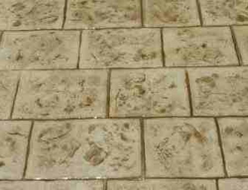 אבן לונדון בטון מוטבע