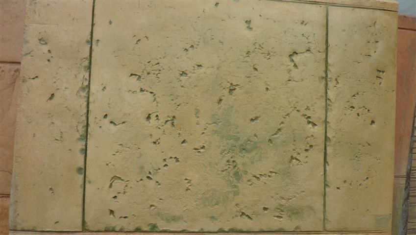 טרוורטין ריצוף בטון