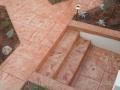 מדרגות בטון מוטבע