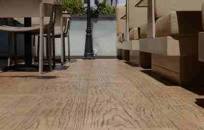 ריצוף בטון מוטבע במסעדות ובתי קפה