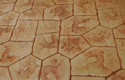 ריצוף בטון בומנייט דמוי אבן פראית